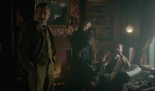 Or this clip from The Abominable Bride