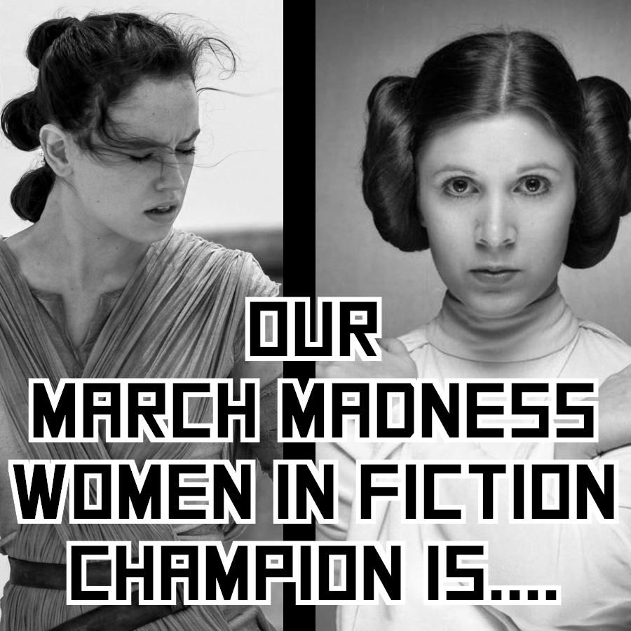 And the winner is… Non-Productive.com's #WomenInFiction #MarchMadness