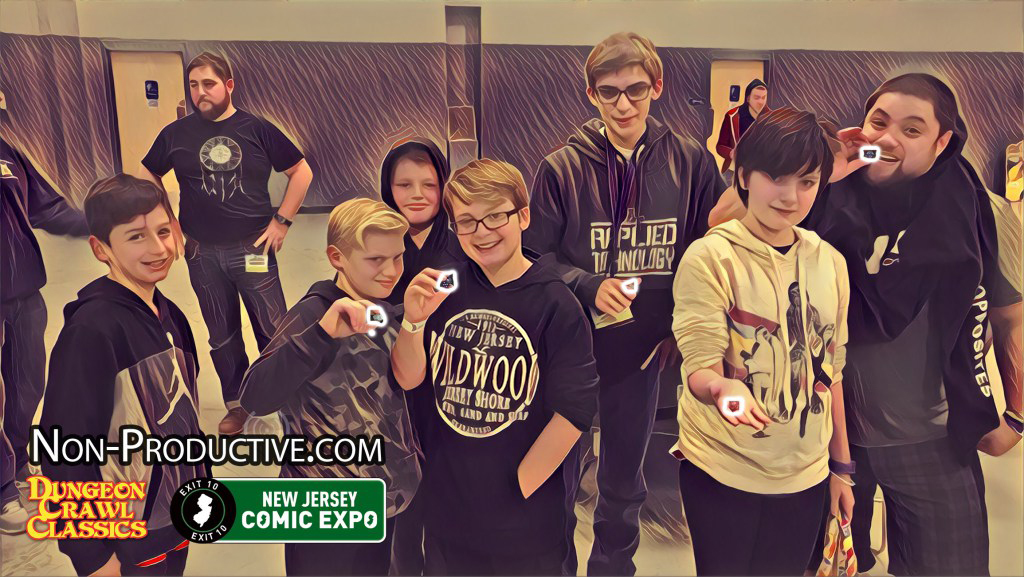 NonPro Presents Tabletop Gaming at New Jersey Comic Expo!