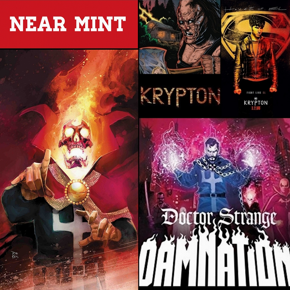 Near Mint – The Trouble with Krypton, and Doctor Strange: Damnation!