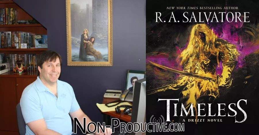 "Writer R.A. Salvatore Discusses ""Timeless"""